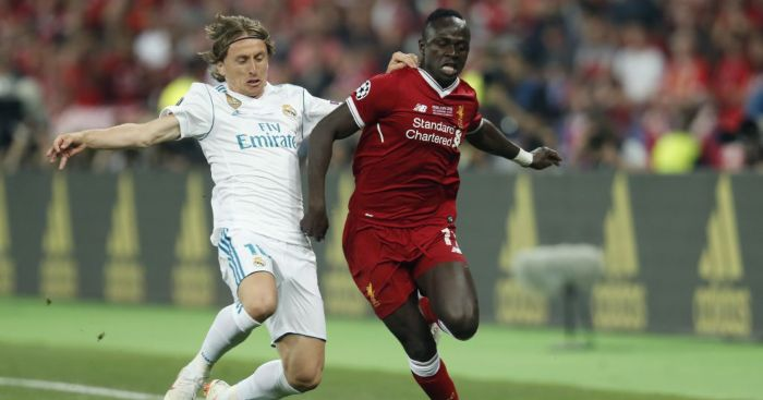 Sadio Mane Liverpool Luka Modric Real Madrid
