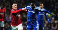 Michael Essien Chelsea Wayne Rooney Man Utd