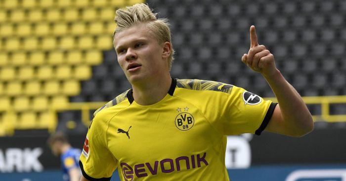 Erling-Haaland Dortmund Liverpool