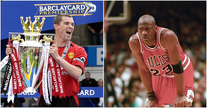Roy Keane Michael Jordan The Last Dance