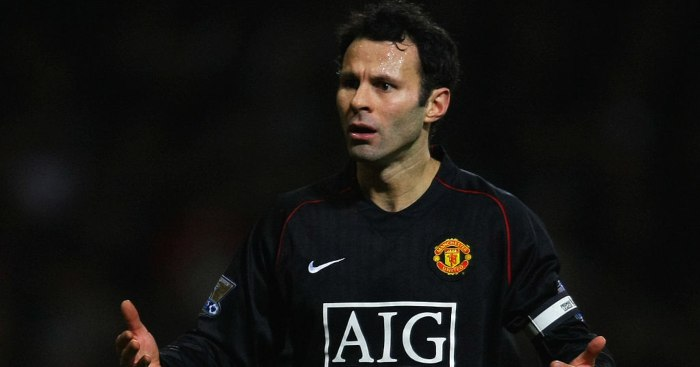 Ryan Giggs Man Utd