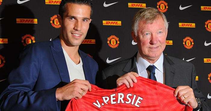 Robin van Persie Sir Alex Ferguson Man Utd