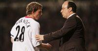 Stephen Warnock Rafa Benitez Liverpool