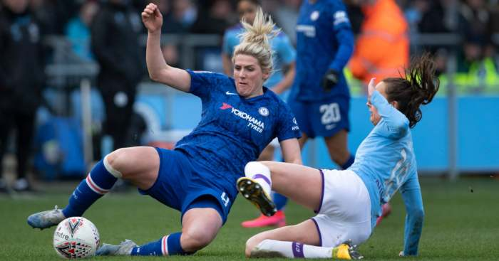 Women's Super League Chelsea Man City
