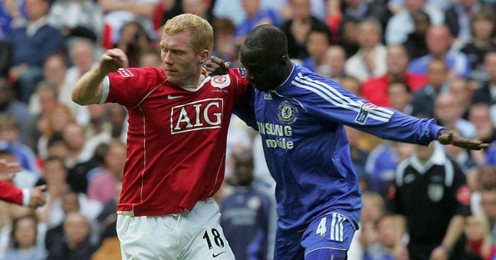 paul scholes claude makelele man utd chelsea