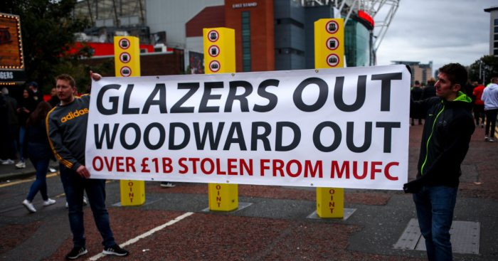 Glazer family Ed Woodward Man Utd