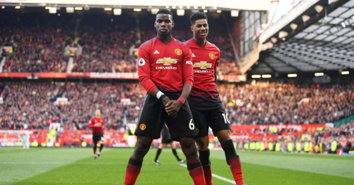 Paul Pogba Marcus Rashford Man Utd