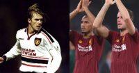 David Beckham Man Utd Jordan Henderson Fabinho Liverpool