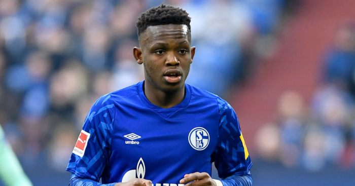 Schalke winger Rabbi Matondo Arsenal