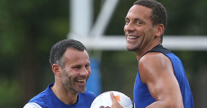 Rio Ferdinand Ryan Giggs Man Utd