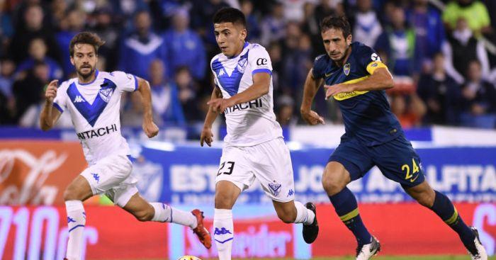 Thiago Almada Velez Sarsfield Man Utd