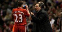 Jamie Carragher Rafa Benitez Liverpool