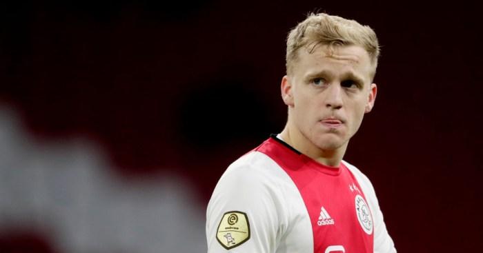 Donny van de Beek Ajax Man Utd