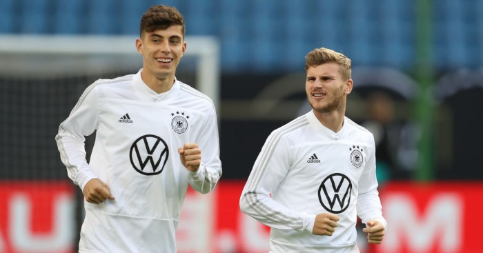 Kai Havertz Timo Werner Germany Chelsea
