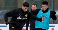 Jadon Sancho Emre Can Borussia Dortmund