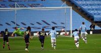 Kevin De Bruyne goal Manchester City Arsenal