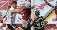 Sheffield United John Egan goal Aston Villa Blades