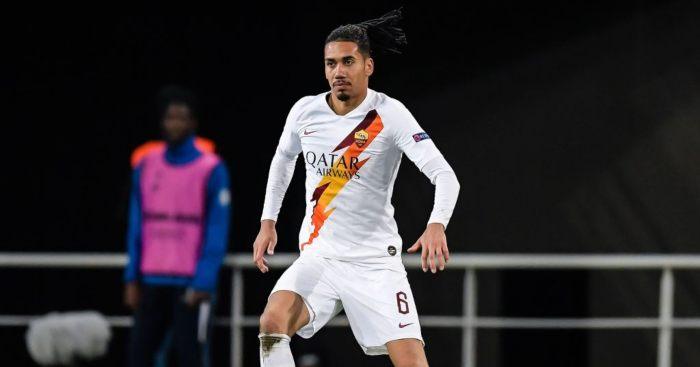 Chris Smalling Roma Man Utd
