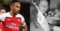 Pierre-Emerick Aubameyang Arsenal smoothie