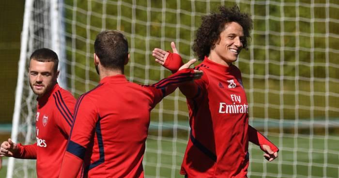 David Luiz Shkodran Mustafi Arsenal