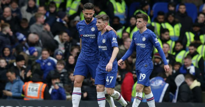 Lampard Billy Gilmour Mason Mount Chelsea