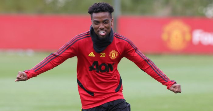 Angel Gomes Man Utd
