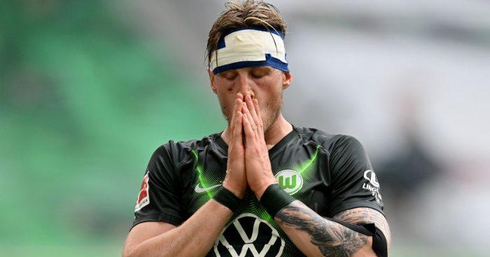Wout Weghorst Wolfsburg Arsenal