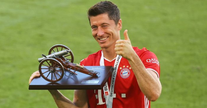 Robert Lewandowski Bayern Munich Man Utd