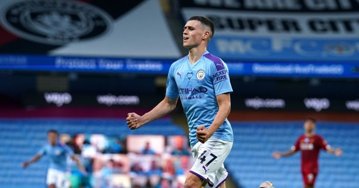 Phil Foden Manchester City Liverpool