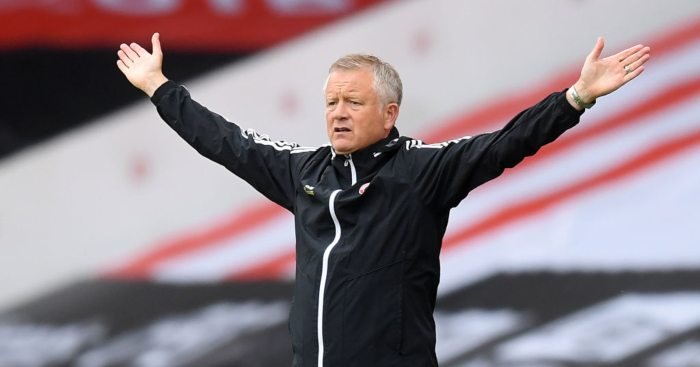 Chris Wilder Sheffield United Burnley