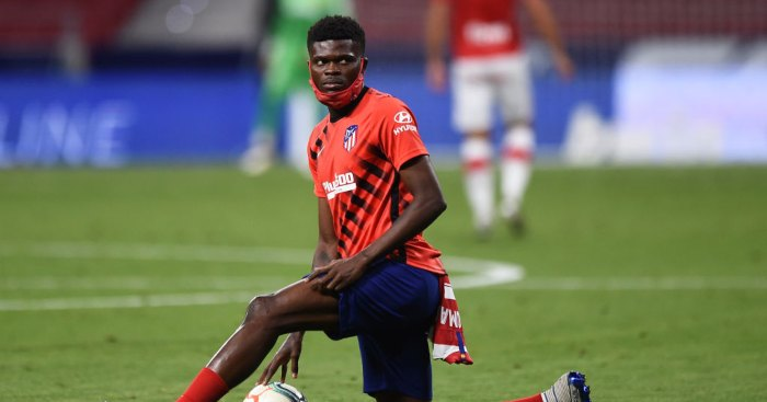 Thomas Partey Atletico Madrid Arsenal