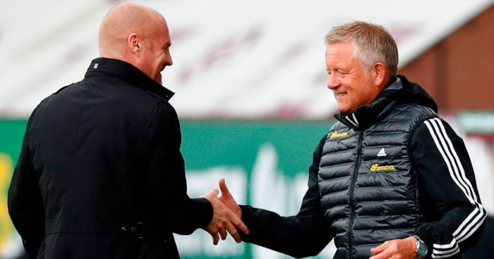 Sean Dyche Chris Wilder Sheffield United Burnley