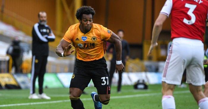 Adama Traore Wolves Man Utd