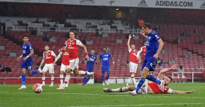 Jamie Vardy Arsenal Leicester City