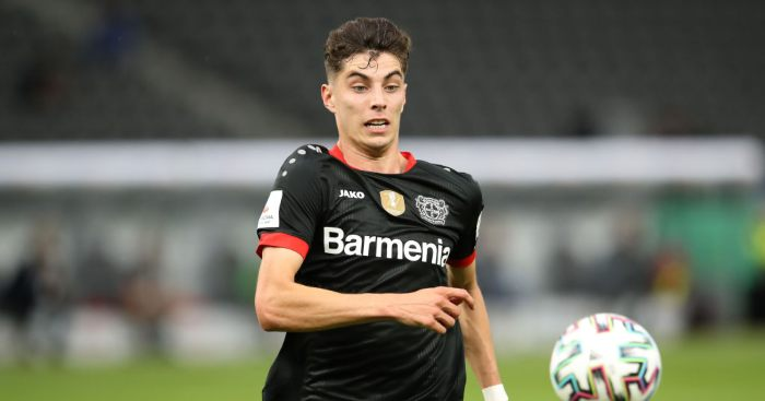 Kai Havertz Bayer Leverkusen Man Utd