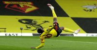 Danny Welbeck overhead kick Watford