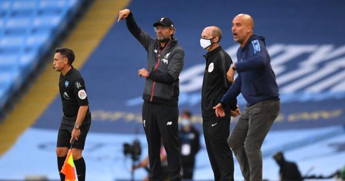 Jurgen Klopp Liverpool Pep Guardiola Man City