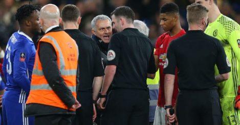 Jose Mourinho Michael Oliver Spurs