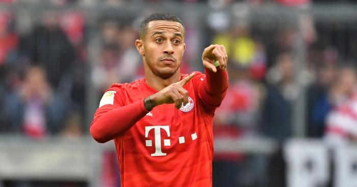 Thiago-Bayern-Munich Man Utd