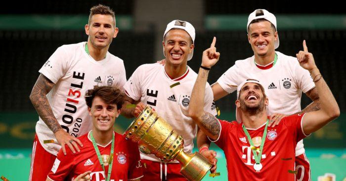 Thiago Alcantara Bayern Munich Man Utd Liverpool