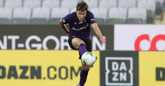 Federico Chiesa Fiorentina Man Utd