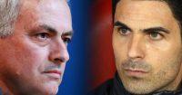 Jose Mourinho Spurs Mikel Arteta Arsenal