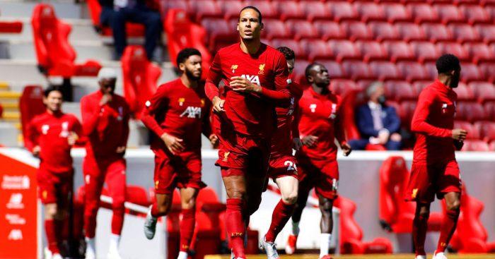 Liverpool Burnley Virgil van Dijk