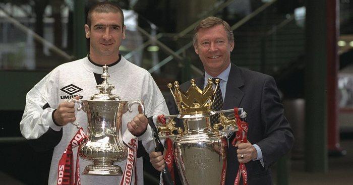 Eric Cantona Sir Alex Ferguson Man Utd Liverpool