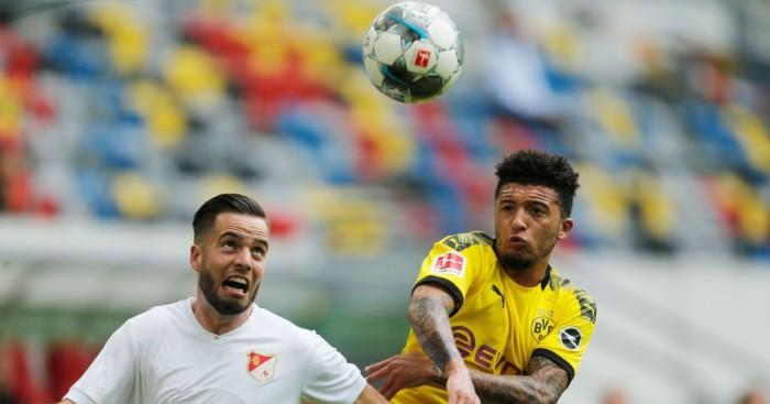 Jadon Sancho Borussia Dortmund Liverpool