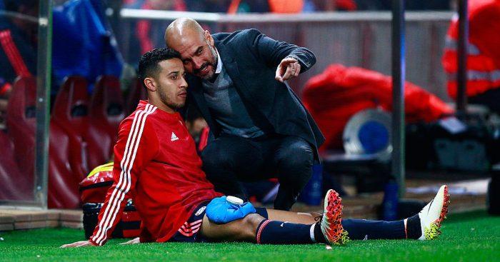 Thiago Alcantara Pep Guardiola Bayern Munich Liverpool