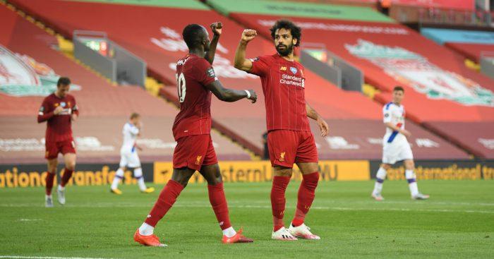 Mohamed Salah Sadio Mane Liverpool