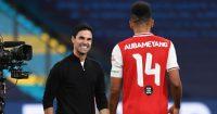 Mikel Arteta Pierre-Emerick Aubameyang Arsenal