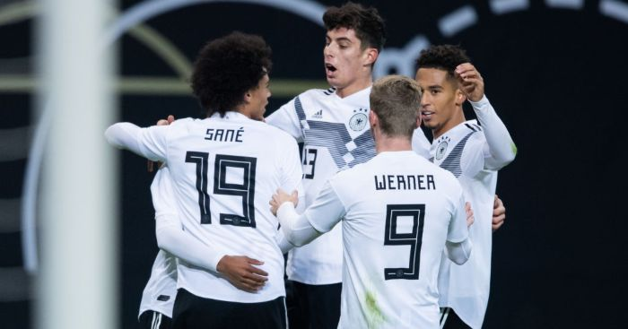 Timo Werner Leroy Sane Kai Havertz Germany Chelsea