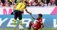 Jadon Sancho Kingsley Coman Borussia Dortmund Bayern Munich Man Utd